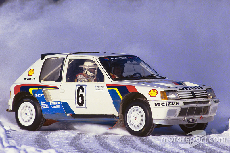 Peugeot 205 T16 changed it all