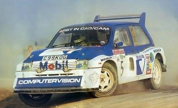 MG Metro 6R4: F1 technology into rallying