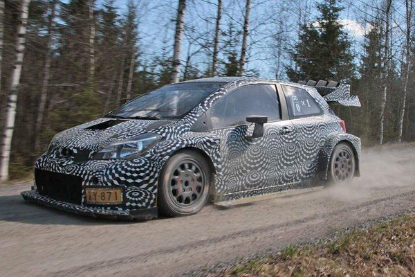 Toyota Yaris WRC launches 2017 aero battle