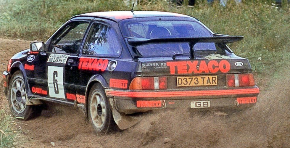 Sierra RS Cosworth: first Ford's whale-tail