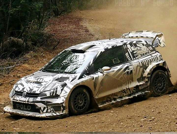 New Polo WRC aero package for 2017