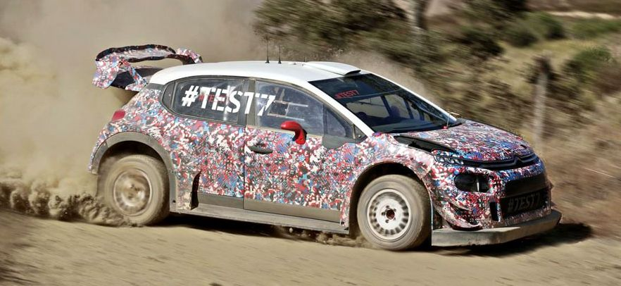 Citroën and Ford reveal their new WRC aero packages for 2017