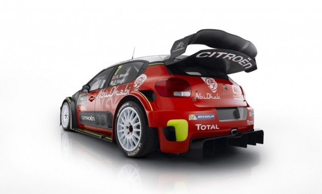 Citroën C3 WRC 2017 aero (r)evolution