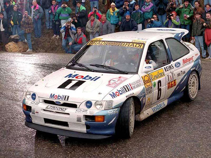 Ford Escort RS Cosworth: the RALLY CAR