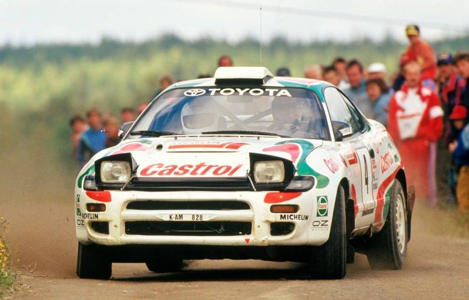 Toyota Celica GT Four put Japan on top of WRC