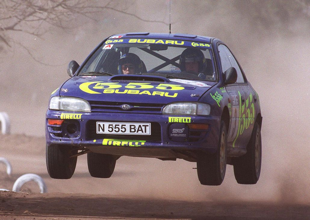 Subaru Impreza extended Japanese dominance on WRC in the 90s