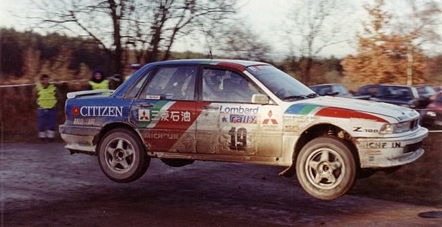 Mitsubishi Galant VR4, the base for Lancer Evo dominance in the WRC