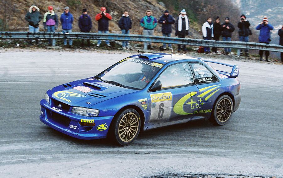 Subaru Impreza WRC and the WRC concept