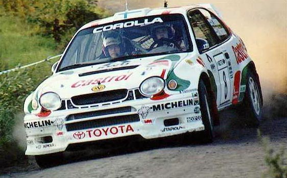 1997: And Toyota came back with the Corolla WRC