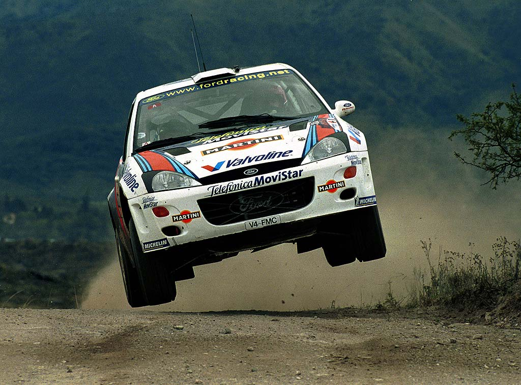 Ford Focus WRC: the start of a new era for Ford (1999-2003)