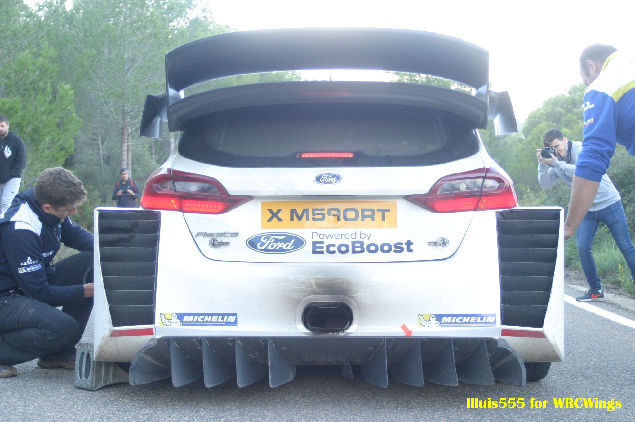 Review Of The Ford Fiesta Wrc New Rear Diffuser Wrcwings