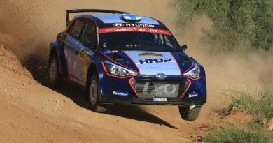 Aerodynamics of WRC2 cars: Hyundai i20 R5