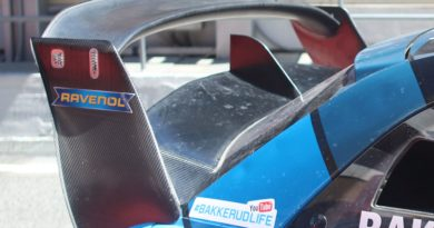World Rallycross supercars rear wing comparative