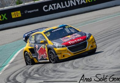 Rallycross Supercars Aerodynamics: generating downforce from the car front