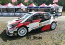 Toyota proposal of a modified rear wing for the Yaris WRC