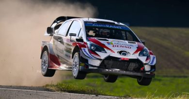 Modifications in the successful Toyota Yaris WRC in Rally Deutschland
