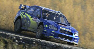 Subaru Impreza WRC03 aero and rally performance