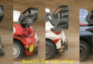 Controversy on WRC rear wing dimensions and shape