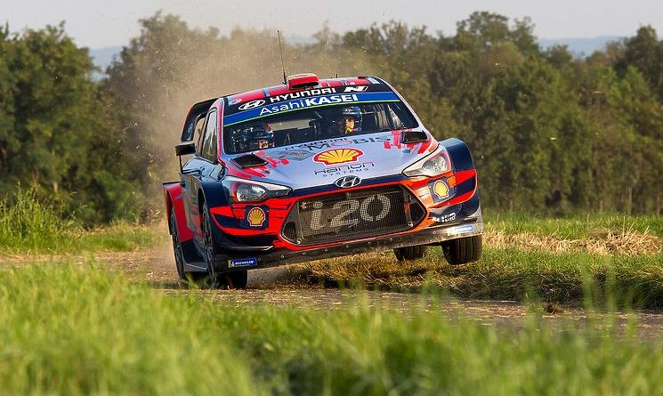 WRC results in the fastest stages and aero balance