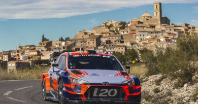 How aerodynamics of WRC cars change in a mixed surface event: Rally Catalunya 2019