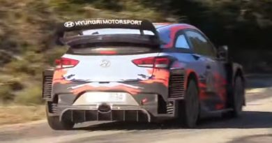 Hyundai opens pre2020 season tests with aero modifications for the i20 Coupé WRC