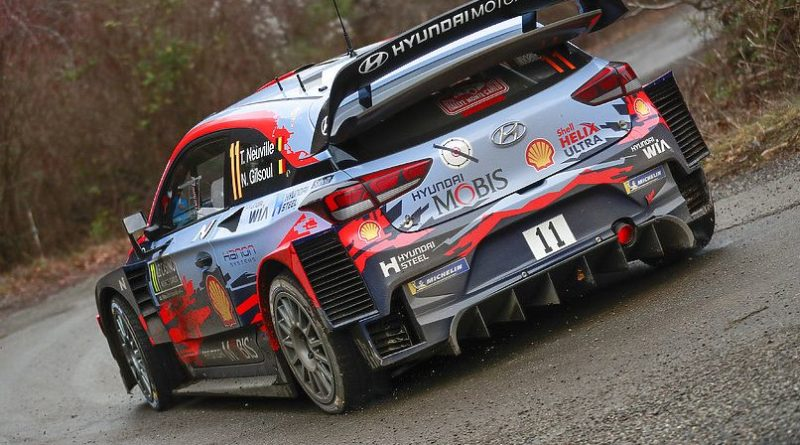 Aero issues during Rallye Monte Carlo 2020