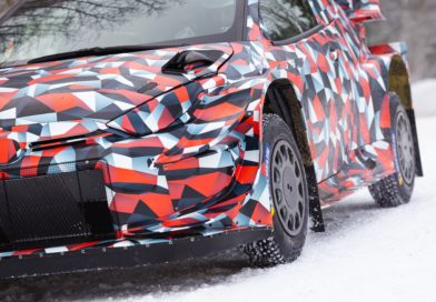 Toyota starts testing the Yaris WRC design for 2021