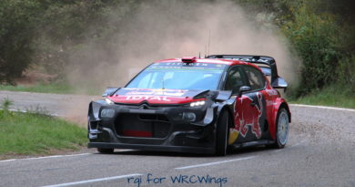 Updated WRC Homologation joker list