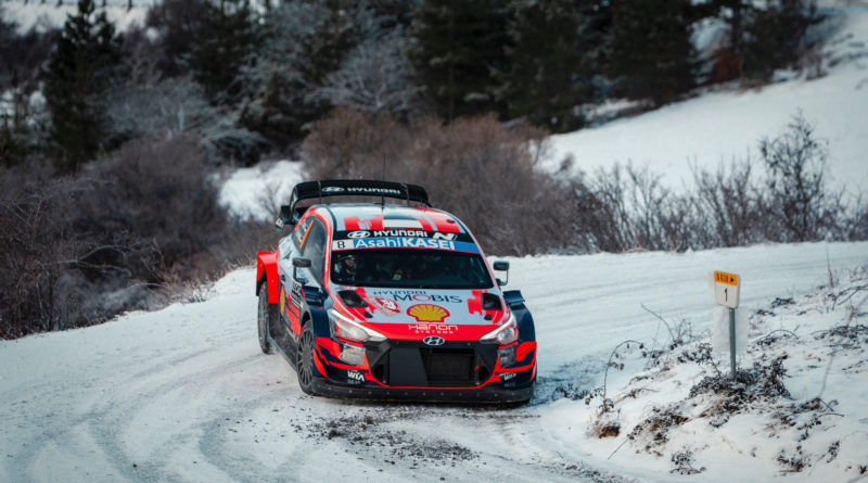 Cooling issues at Rallye Monte-Carlo 2021