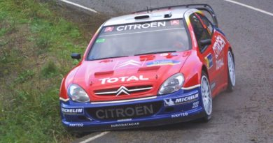 Active suspension, or how to make the aero of a rally car more efficient